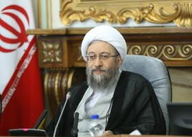 تبریک آیت الله آملی لاریجانی به نماینده جدید ولی فقیه در مازندران