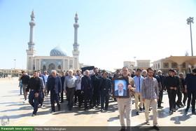 تصاویر/ مراسم تشییع مرحوم شیخ محمود واعظی اردبیلی در قم