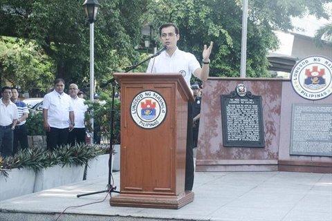 شهردار شهر مانیل فیلیپین
