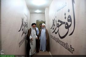 تصاویر/ بازدید مدیر حوزه علمیه خواهران استان تهران از رسانه رسمی حوزه