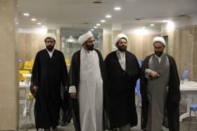 بازدید مدیر حوزه تهران از مدرسه علمیه امام خمینی(ره)+ عکس