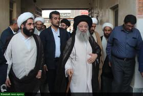 بازدید آیتالله موسوی جزایری از قرارگاه خدمترسانی بقیهالله(عج)+ عکس