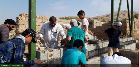 تصاویر/ جوانان در خط مقدم اردوهای جهادی