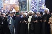 مراسيم تبديل راية الإمامين الجوادين بذكرى استشهاد الإمام محمد الجواد (ع) +الصور