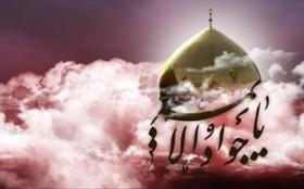 مراسم عزاداری امام جواد(ع) در حرم علی بن جعفر(ع)