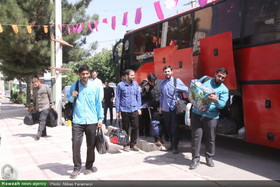 تصاویر/ آغاز میثاق طلبگی طلاب جدیدالورود حوزه علمیه قم در تفرش