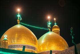 مراسم تعویض پرچم حرم امامین کاظمین (ع) برگزار شد+ تصاویر