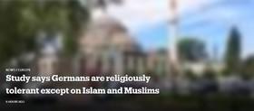 مطالعه جدید نشان داد: آلمانی ها تنها نسبت به اسلام سوء برداشت دارند