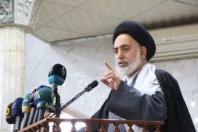 امام جمعة النجف الاشرف يستنكر العدوان المكرر على القنصلية الايرانية في النجف الاشرف