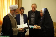 In Pictures: WHO representative meeting with head of Islamic seminaries