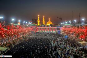 حال و هوای حرم امام حسین (ع) در روز شهادت امام جواد(ع)+ تصاویر