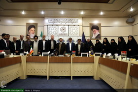 In Pictures: Meeting of WHO representative with women Hawzah center director