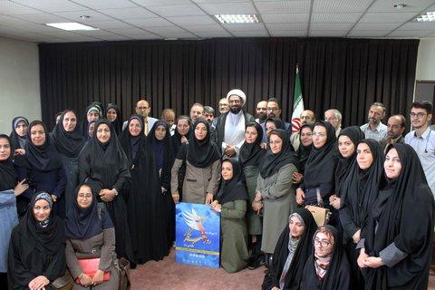 دیدار اصحاب رسانه با نماینده ولی فقیه در استان همدان