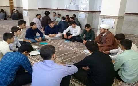 میثاق طلبگی حوزه علمیه کرمانشاه به روایت تصویر