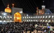 ویژه برنامههای شهادت حضرت رقیه(س) در حرم رضوی برگزار میشود