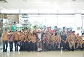 دانشآموزان تهرانی از باغ موزه دفاع مقدس بازدید کردند+ عکس