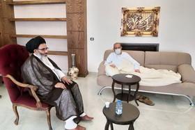 نماینده ولی فقیه در سوریه از عضو ارشد حزب الله عیادت کرد