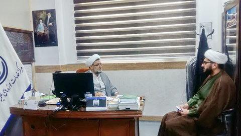 حجت الاسلام فلاح - مدیر مرکز خدمات مازندران