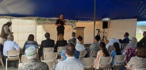 مسجد شهر مکای در استرالیا مراسم درهای باز برگزار کرد