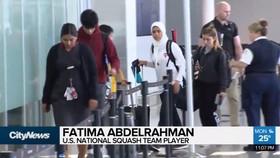 رفتار تبعیض آمیز ماموران فرودگاه سن فرانسیسکو  با دختر 12 ساله محجبه