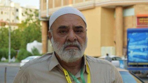 زائر سالمند پاکستانی با یک پا به زیارت حج رفت