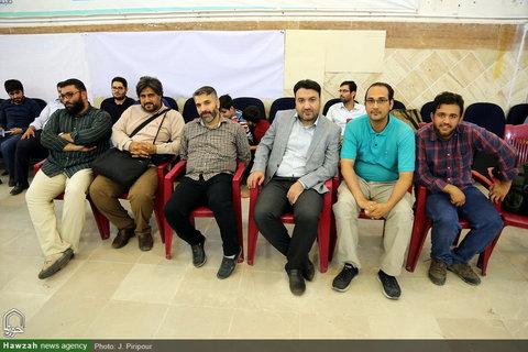 تصاویر/ تیراندازی خبرنگاران قمی