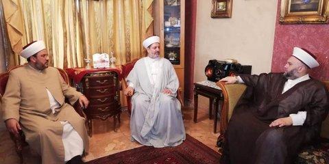 روحانیون اهل سنت لبنانشیخ عبد الله جبری / شیخ ماهر مزهر /شیخ بلال شعبان