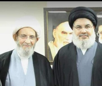 سید حسن نصرالله به ملاقات شیخ یزبک رفت+ عکس
