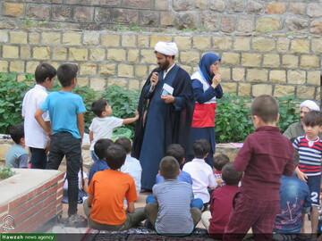 تصاویر/  طرح مهارت های زندگی در بوستان بابا امان بجنورد