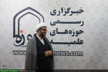 بازدید مدیرکل تبلیغات اسلامی استان قم از خبرگزاری حوزه