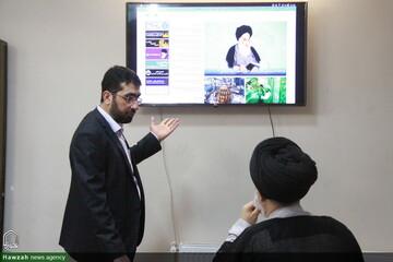 تصاویر/ بازدید رئیس معهد تخصصی قرآنی نجف اشرف از خبرگزاری حوزه