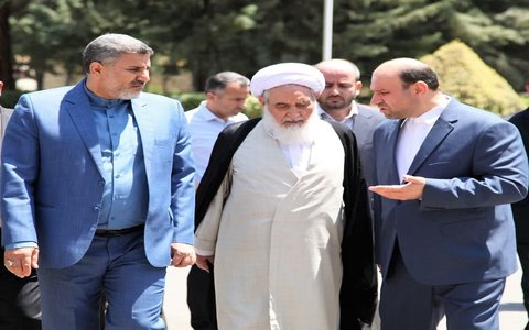 تصاویر/ بازدید نماینده ولی فقیه در کرمانشاه از صدا  وسیمای زاگرس