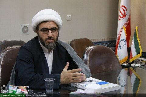 تصاویر/ بازدید مدیرکل تبلیغات اسلامی استان قم از خبرگزاری حوزه