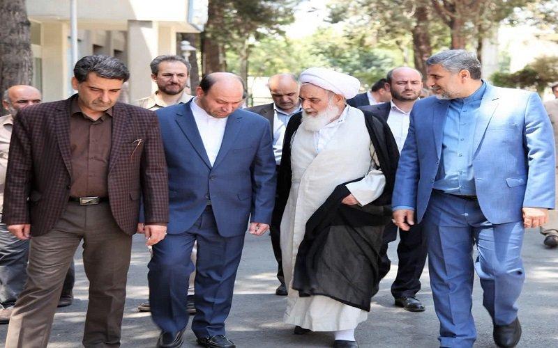 تصاویر/ بازدید نماینده ولی فقیه در کرمانشاه از صدا و سیمای زاگرس