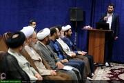 بالصور/ الاحتفاء بيوم المراسل وإزاحة الستار عن الموقع الجديد لوكالة أنباء الحوزة بقم المقدسة