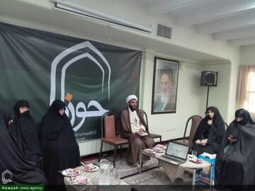 تصاویر/ نشست تخصصی «رسانه و امر به معروف و نهی از منکر» در دفتر خبرگزاری حوزه در همدان
