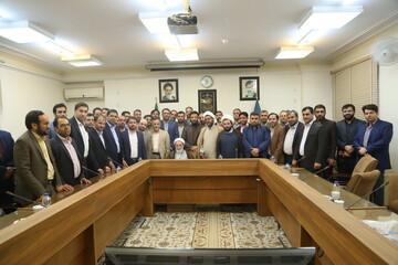 تصاویر/ دیدار دادستانهای کل کشور با آیت الله یزدی در جامعه مدرسین حوزه