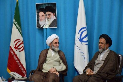 دیدار وزیر اطلاعات با آیت الله فلاحتی