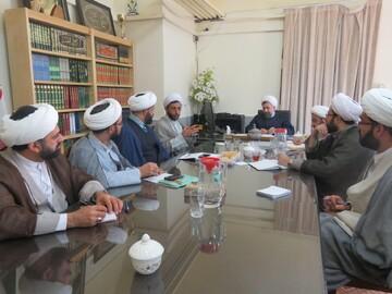 معاونان آموزش مدارس علمیه استان یزد گرده آمدند