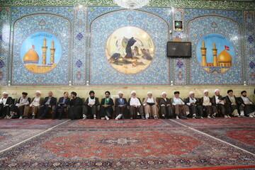 تصاویر/ مراسم بزرگداشت آیت الله محمد آصف محسنی در قم
