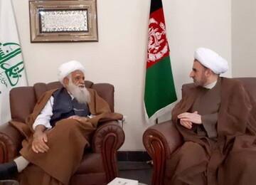 تسیلت رئیس دانشگاه مذاهب اسلامی به مردم افغانستان