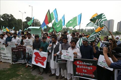 Activist asks Muslim world to come forward for Kashmir
