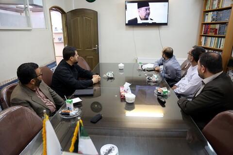تصاویر/ بازدید مدیر اجرایی مجمع عالی حکمت اسلامی از خبرگزاری حوزه