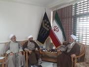 تصویری رپورٹ|ایرانی دینی مدارس کے سربراہ آیت اللہ اعرافی صوبہ گرگان پہنچ گئے