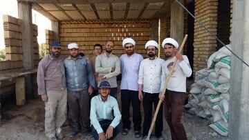 تصاویر/ اردوی جهادی طلاب مدرسه حضرت ولیعصر(عج) اسفراین