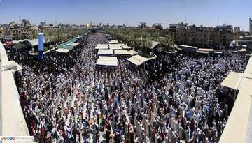 بالصور/ أجواء مراسيم عرفة في منطقة بين الحرمين