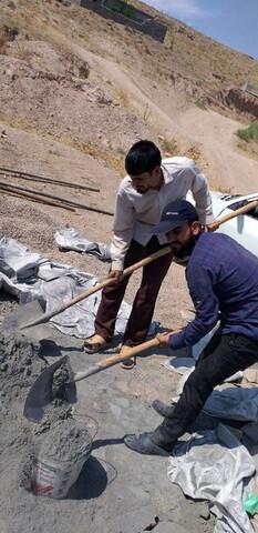 تصاویر/ اردوی جهادی طلاب مدرسه علمیه حضرت ولیعصر(عج) اسفراین