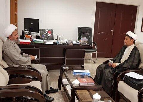 دیدار رئیس مرکز علمی پژوهشی دانشگاهیان هرات با معاون فرهنگی مجمع جهانی تقریب