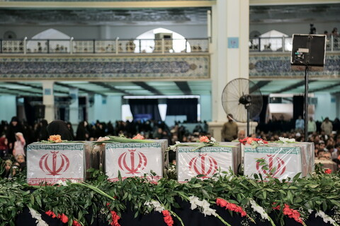 تصاویر/ مراسم معنوی دعای عرفه در مصلای امام خمینی(ره) تهران