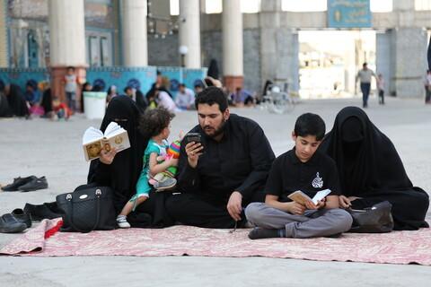 تصاویر/ مراسم پرفیض دعای عرفه در مسجد مقدس جمکران